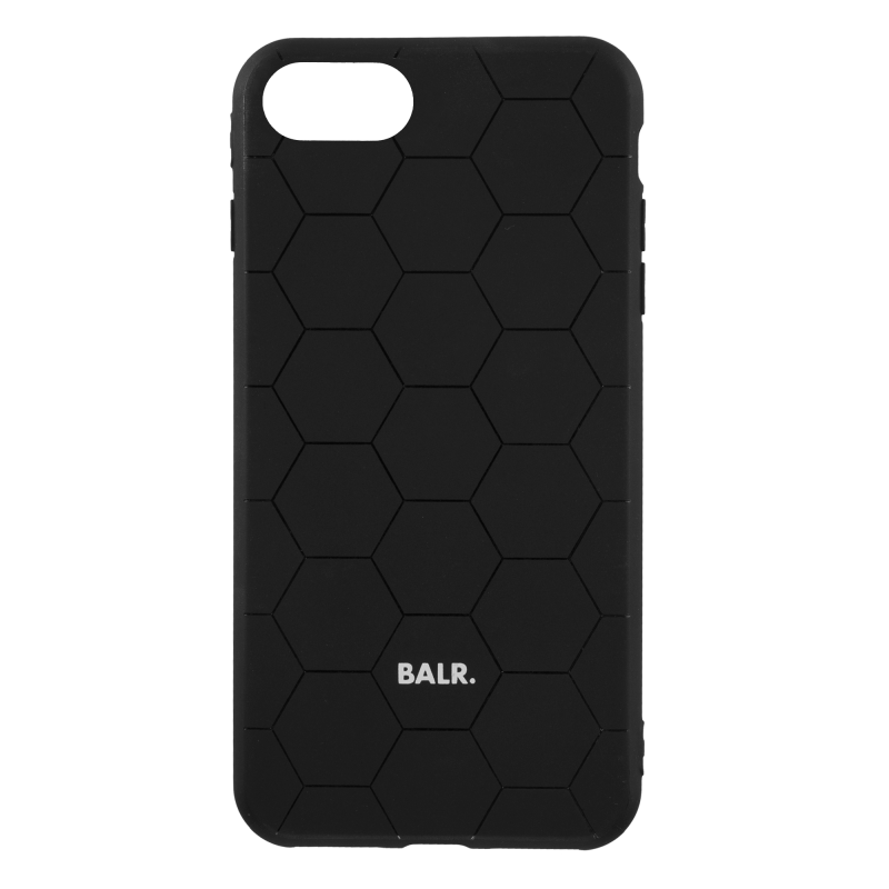BALR. Hexagon Silicone iPhone 7/8 Case - Black