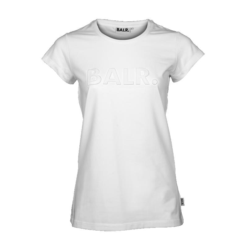 White Embossed Women Shirt Front