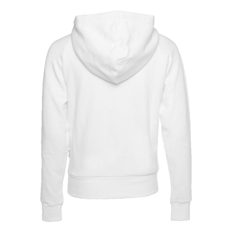 Women Brand Hoodie White Back
