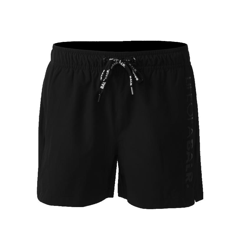 LIFEOFABALR. Swim Shorts Black Front