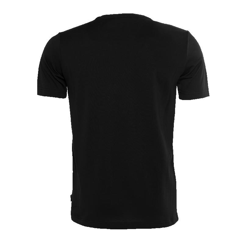 Flag T-Shirt Camo Black Front Back