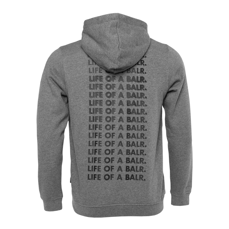 Life Of A BALR. Hoodie Grey