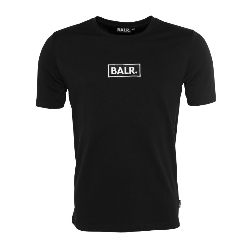 BL - Big Embroidered T-Shirt Black