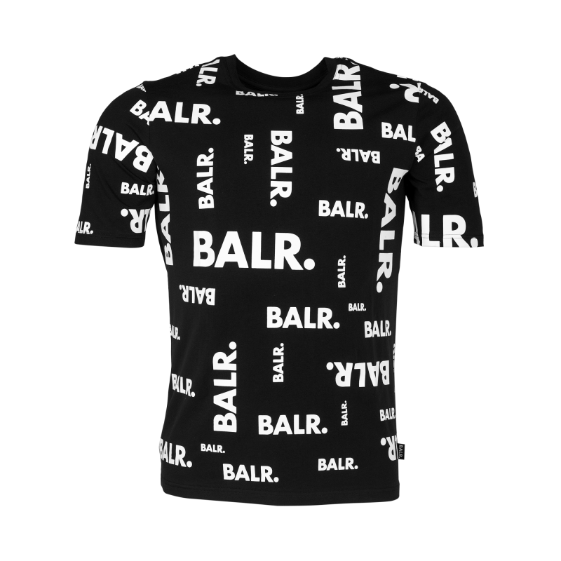 Black Full Brand Shirt Front