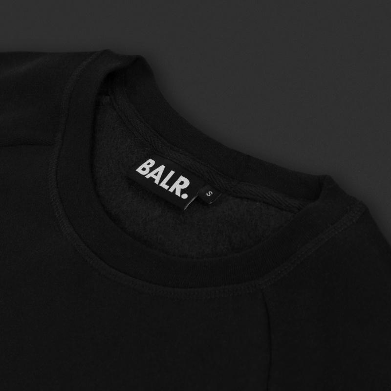 Crew Neck Sweater Black Details