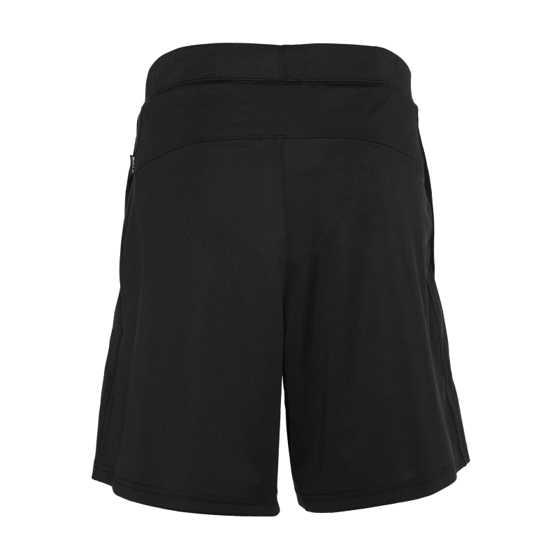 Workout Shorts Black Back