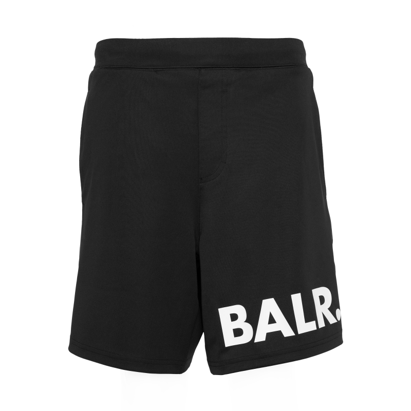 Workout Shorts Black Front