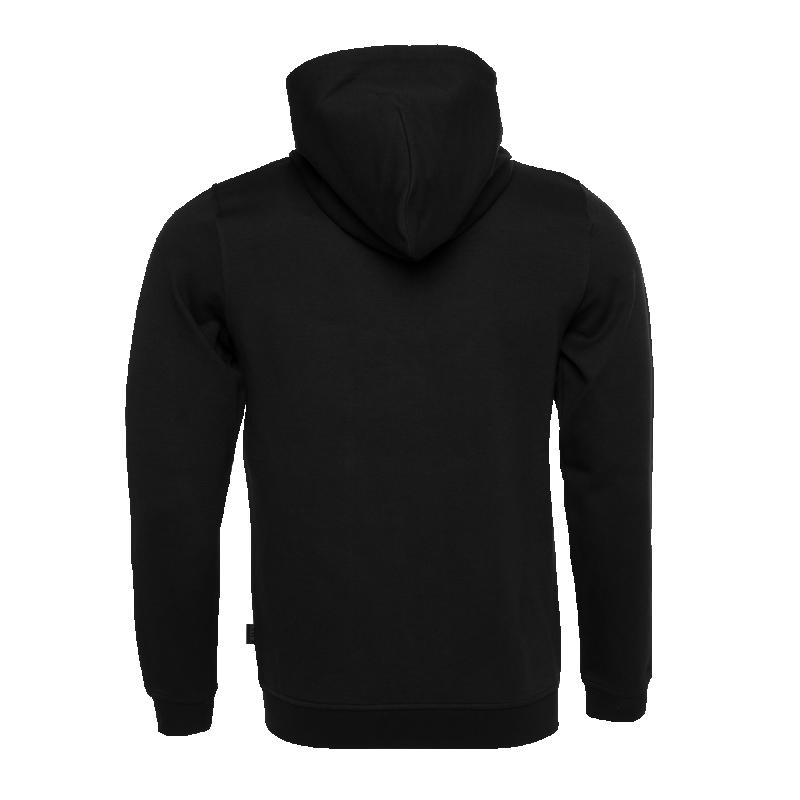 BALR. Q-Series Zipped Hoodie Black Back