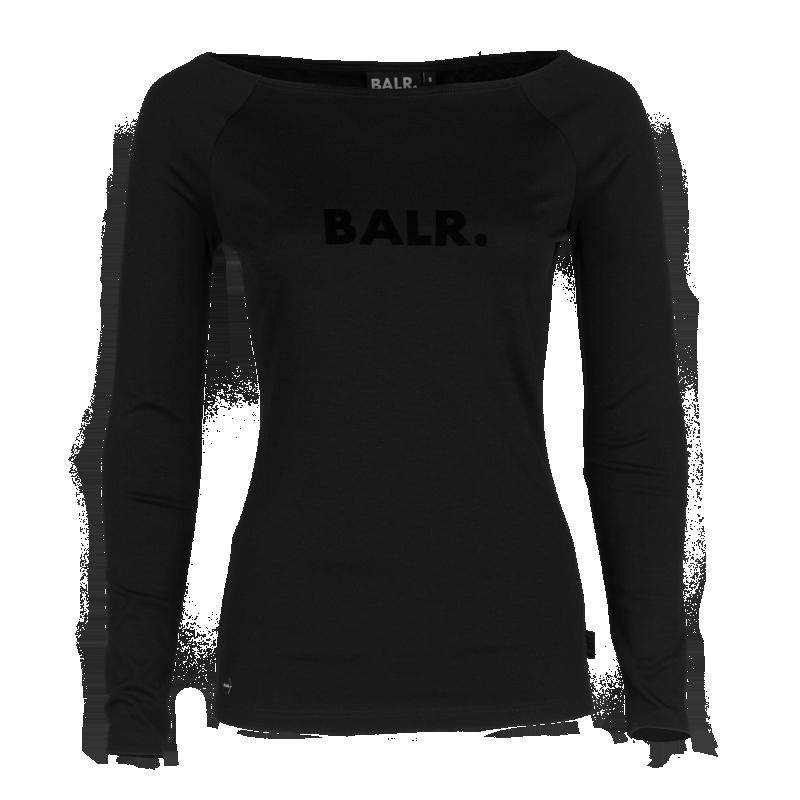 Off-Shoulder Long Sleeve Shirt Front