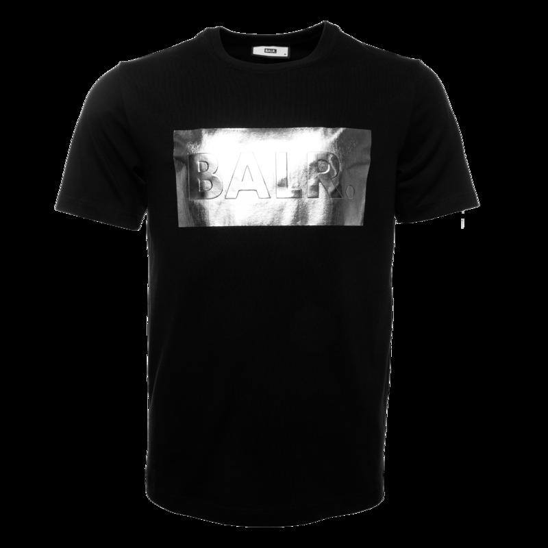 Silver Club Straight T-shirt Black