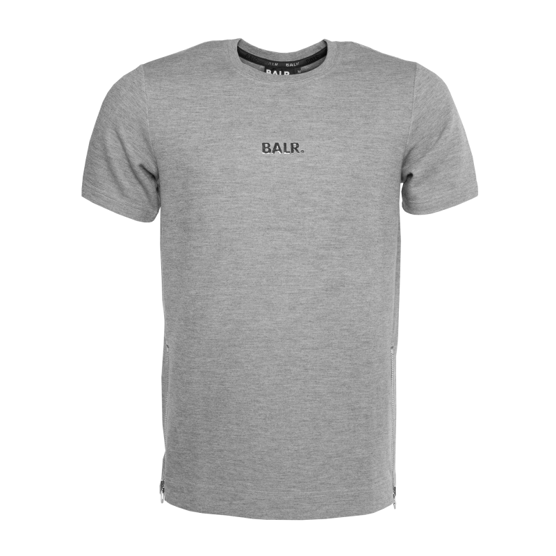Short Sleeve Shirt Grey Front