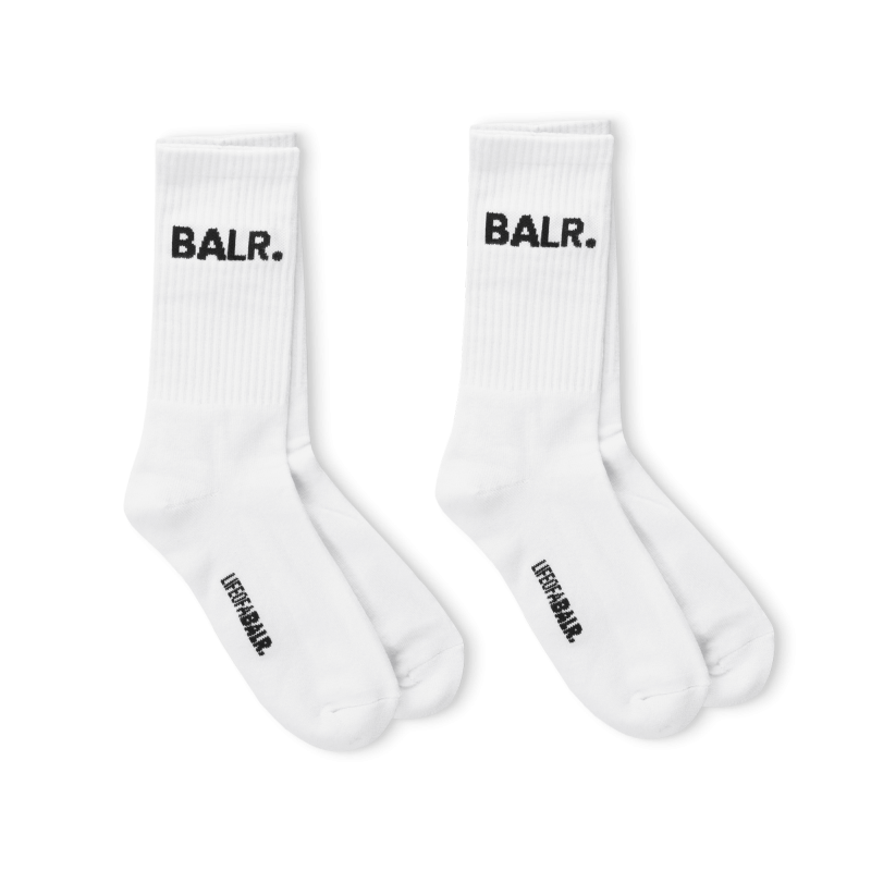 Voorkant BALR. 2-pack BALR. Socks Wit