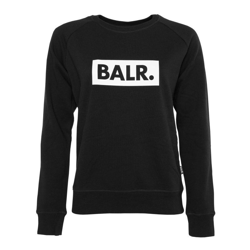 Women Club Crew Neck Black