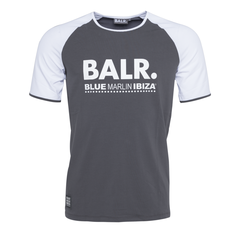 BALR. x BMI Raglan T-Shirt Grey