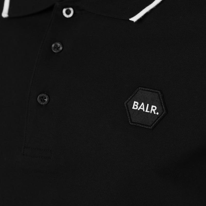 Black Badge Polo Buttons