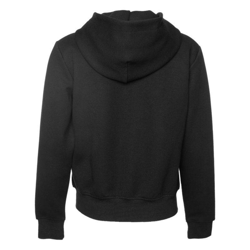 Q-Series Zipped Hoodie Women Black
