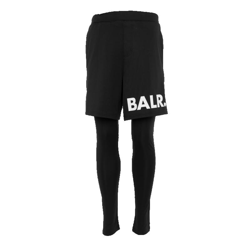 Workout Pants Black Front Combination
