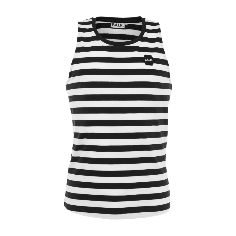 Striped Singlet Front