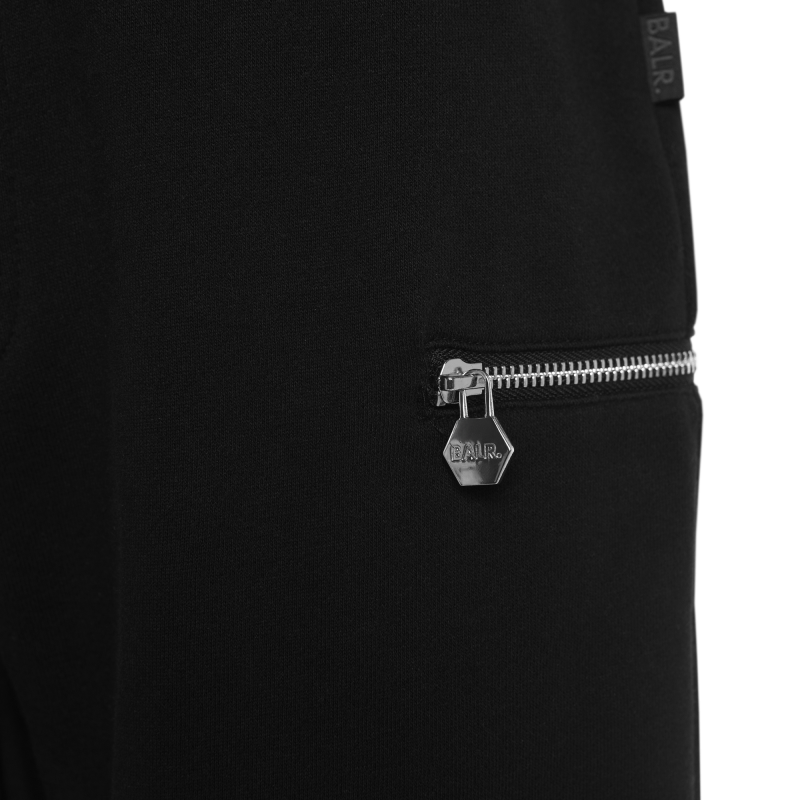 Black Zipped Sweatpants Zipper