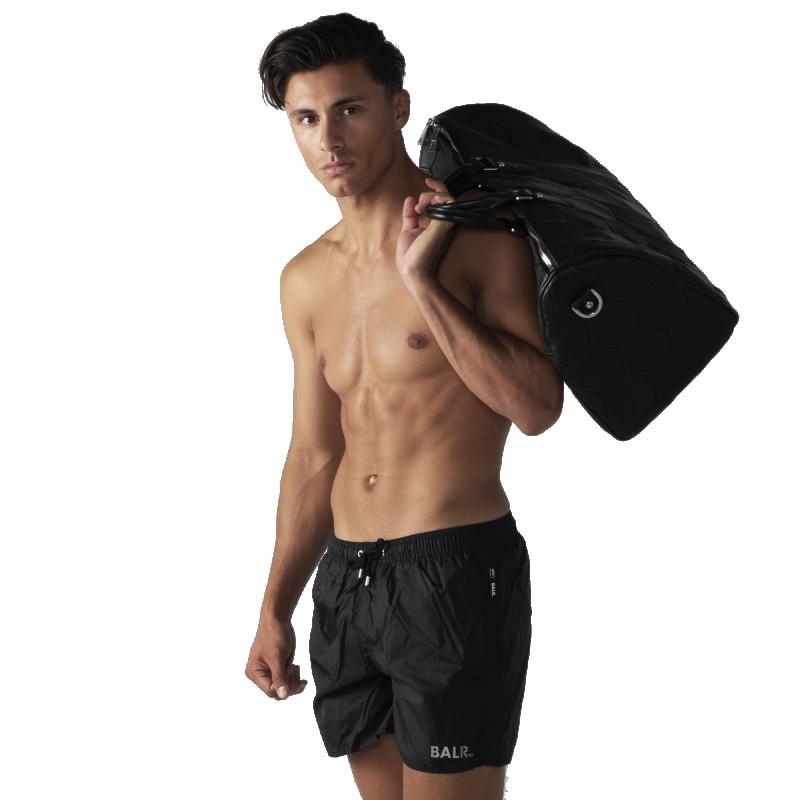 Black Classic Swim Shorts Back Lifestyle