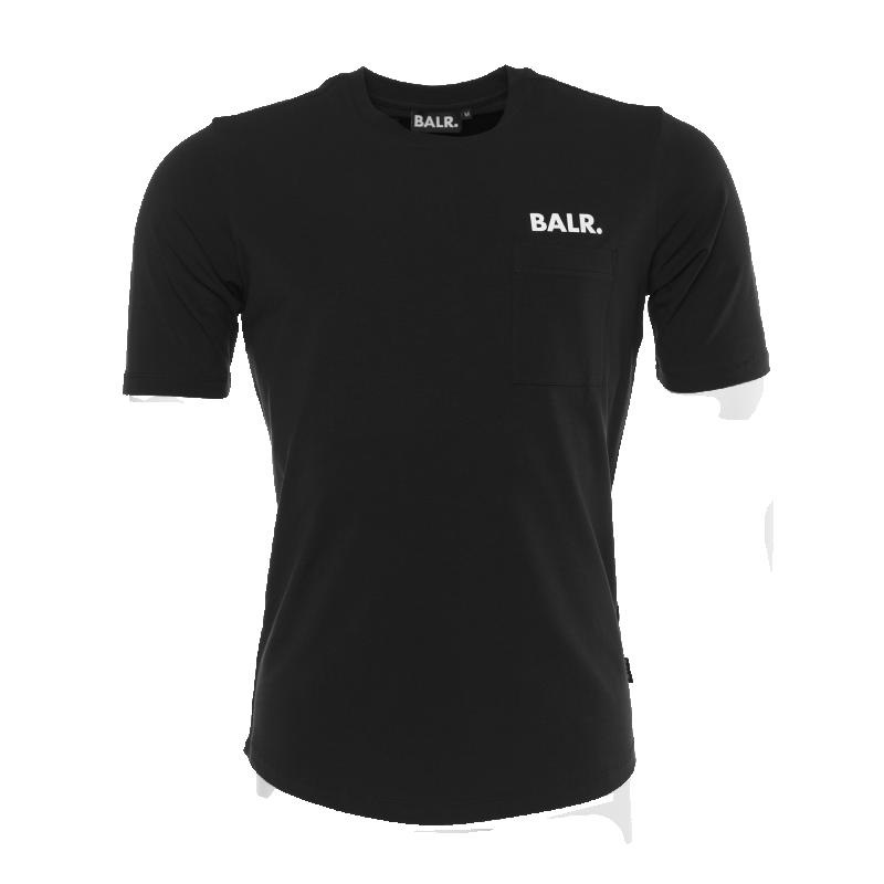 Black Pocket Shirt Front