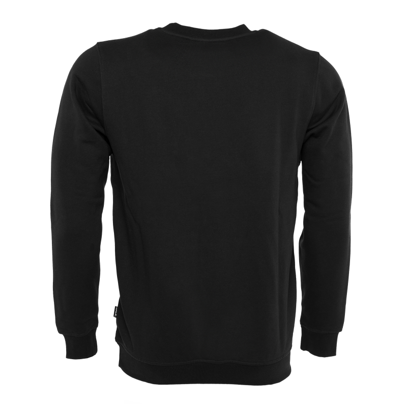 Black Crew Neck Sweater Zwart