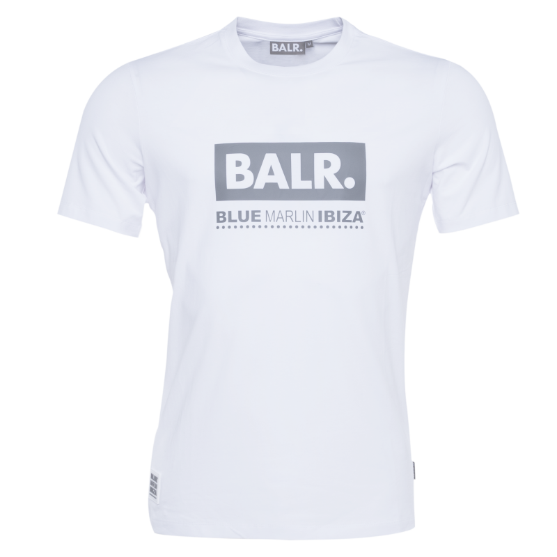BALR. x BMI Club T-Shirt White