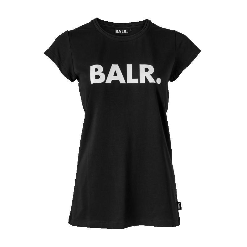 Voorkant Brand Women Shirt Zwart