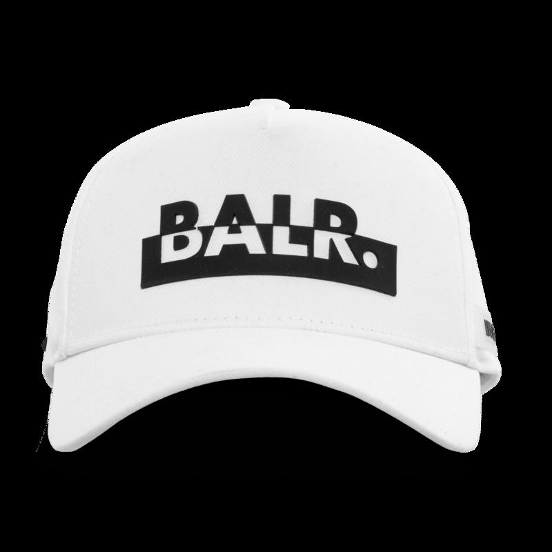 Contrasting logo cap White