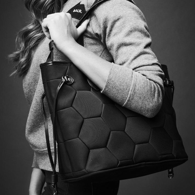 Nylon Tote Bag Lifestyle