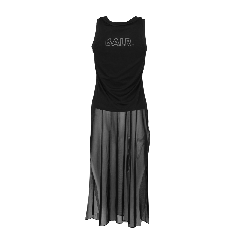 Women Mesh Dress Back
