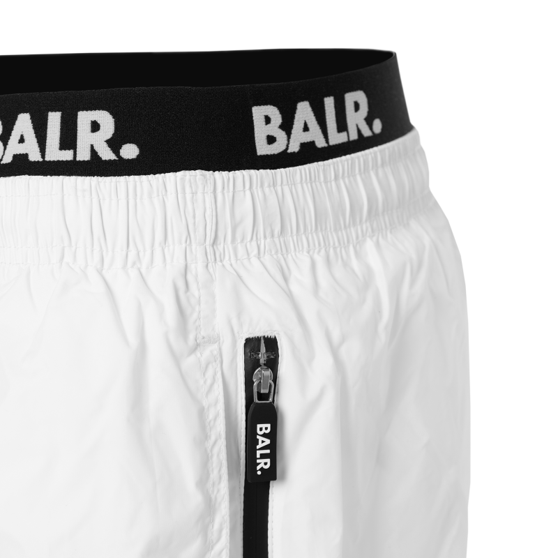 Club Trunks Swim Shorts White Detail