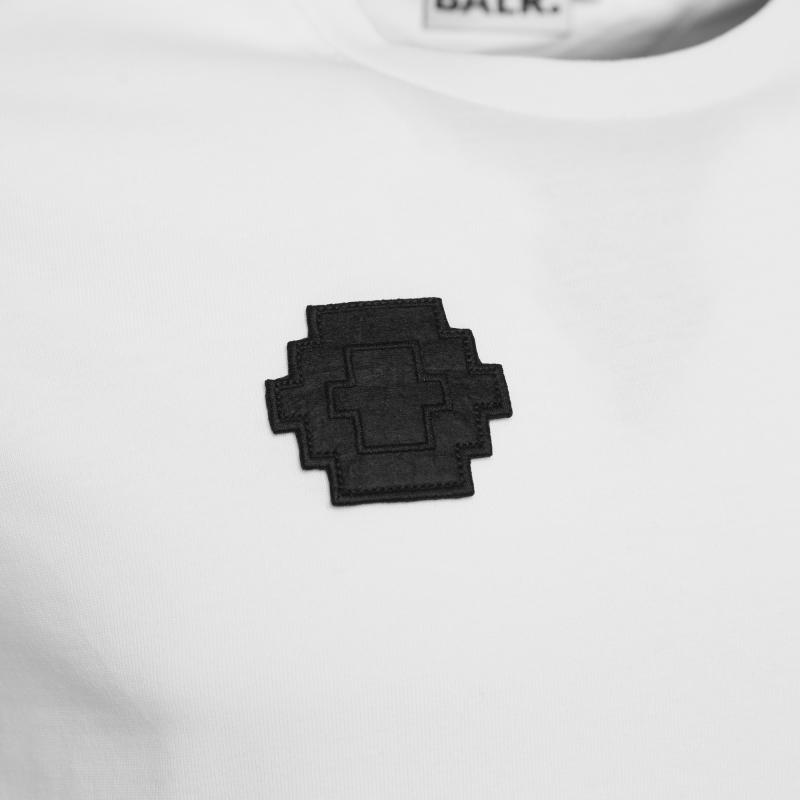 White Badged Shirt Badge