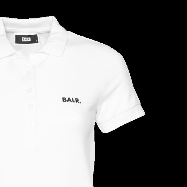 Detail 1 Brand Polo Shirt Women Wit