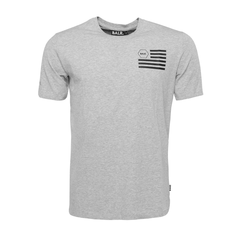 U.S. Of BALR. T-Shirt Grey