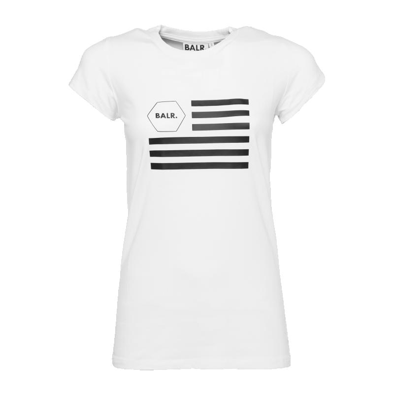 Women USA T-Shirt White