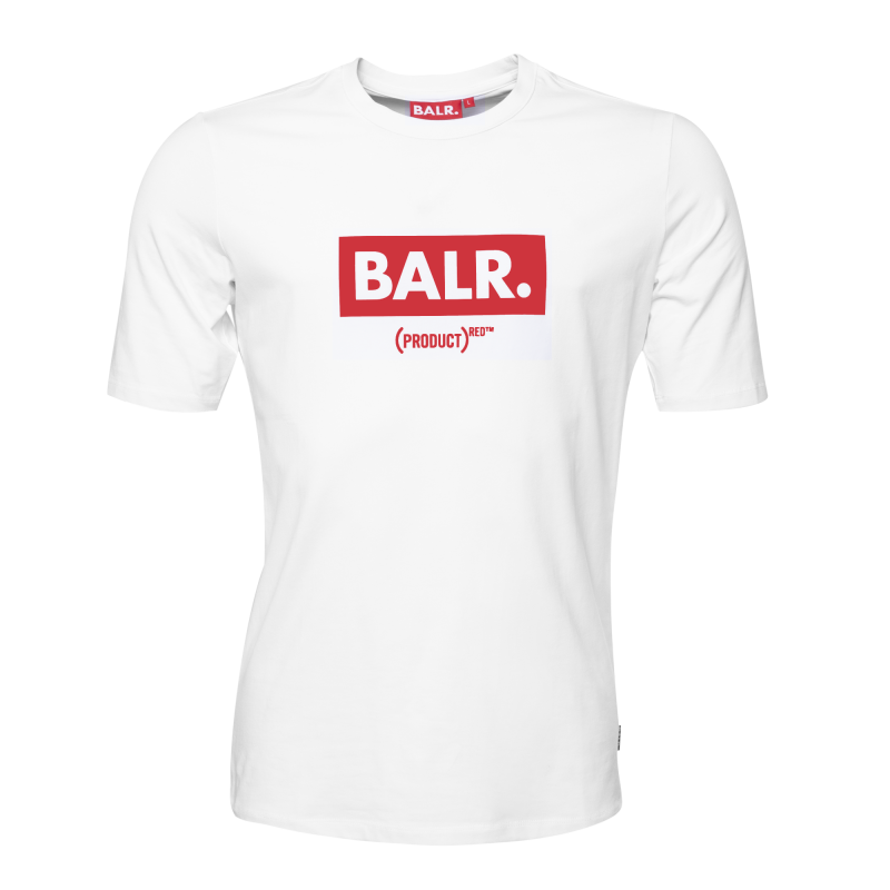 BALR. (BALR.)RED Club T-Shirt White Front
