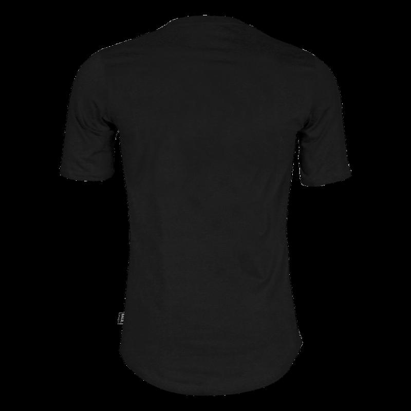 Brand T-shirt Zwart