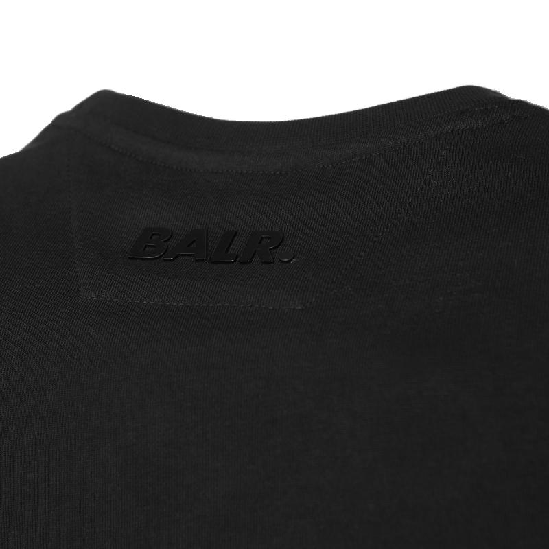 Black Hexagon Shirt Logo