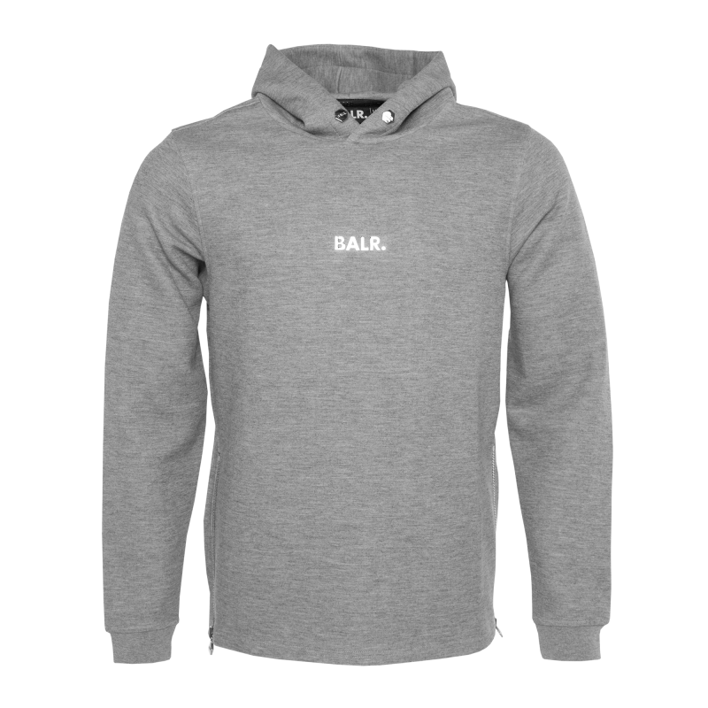 Q-series Classic Hoodie Grey Front