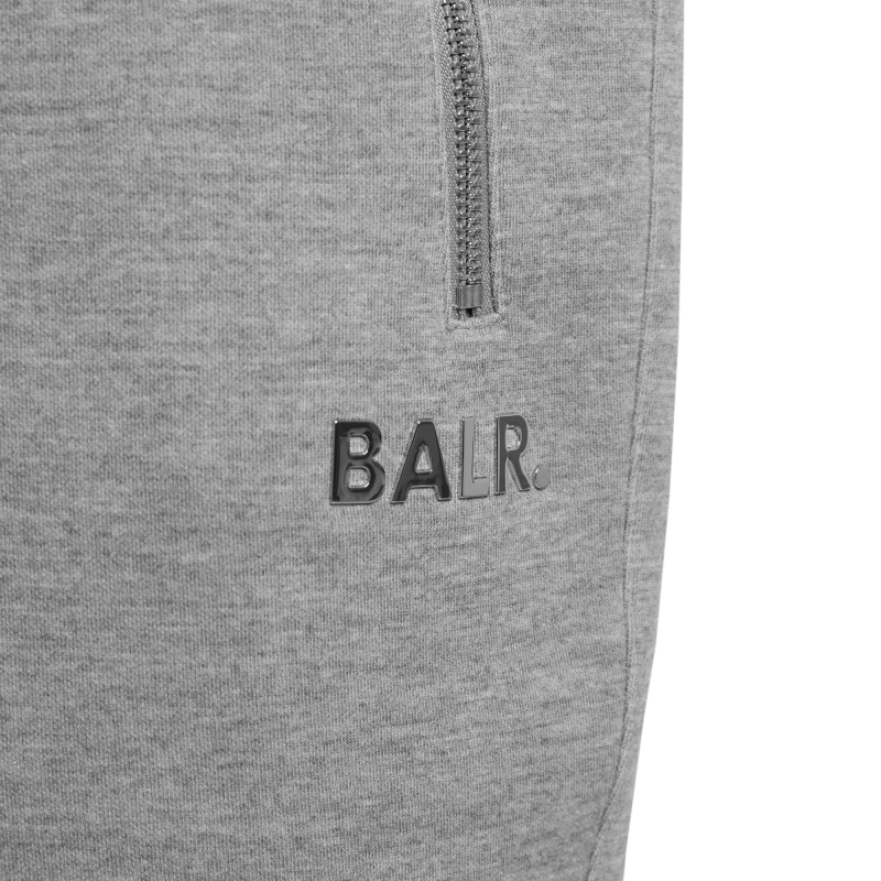 BALR. Q-Series Sweat Shorts Renewed Grey Detail