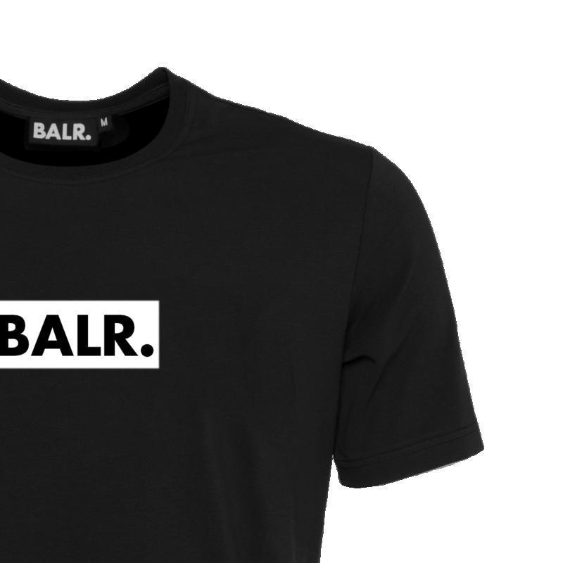 BALR. Black Label - Club T-Shirt Black Detail 1