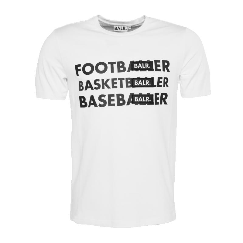BL - Footballer Badge T-Shirt White
