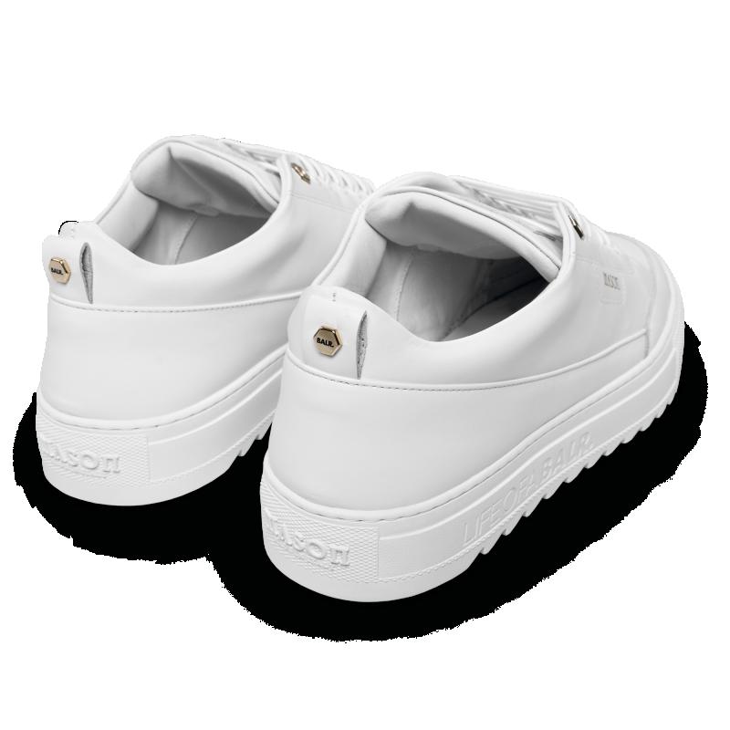 Achterkant BALRxMasonGarments Torino Sneakers Wit