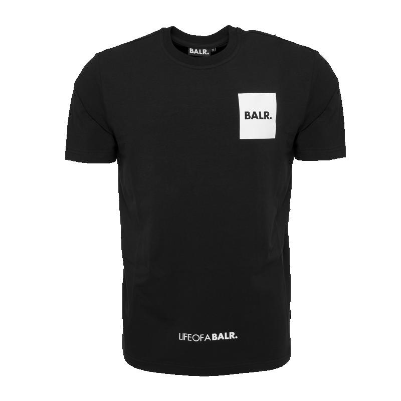 LIFEOFABALR. Flag T-Shirt Black