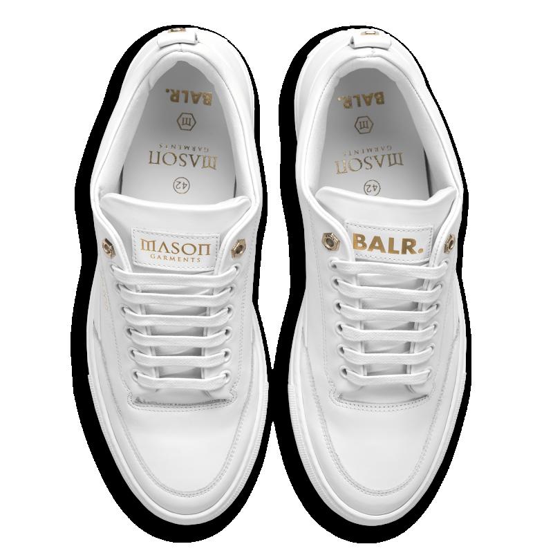 Bovenkant BALRxMasonGarments Torino Sneakers Wit