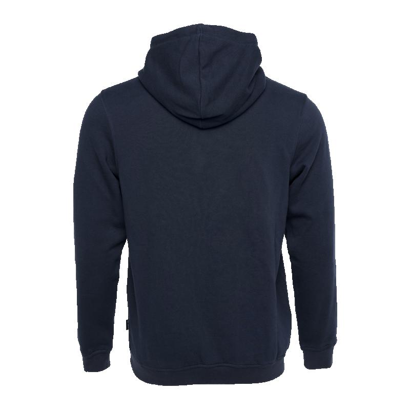 BALR. Brand Hoodie Navy Blue Back