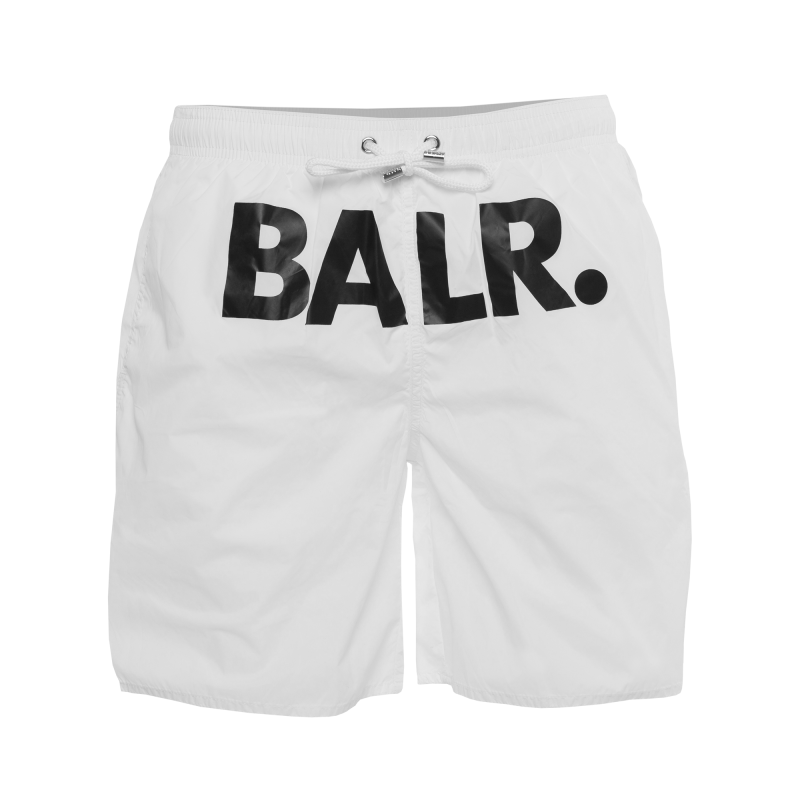 BALR. Swim Shorts White