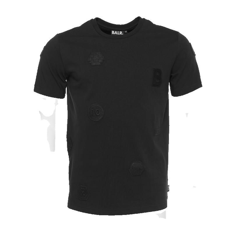 Black Badged Shirt Front