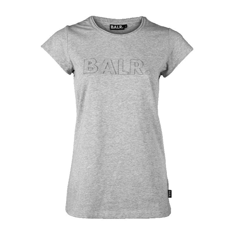 Grey Embossed Women Shirt Front